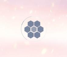 css3创意蜂巢六边形网页加载动画特效