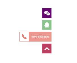 右侧悬浮<span style='color:red;'>在线客服</span>返回顶部特效代码