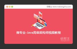 2020第六期_微专业_Java高级架构师视频教程
