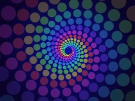 css3多彩圆圈漩涡放大动画特效