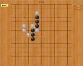 jQuery可单人或双人游戏五子棋游戏源码