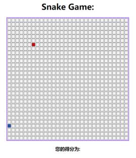 js代码制作的贪吃蛇小游戏源码下载