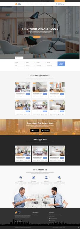 (英文版)jQuery bootstraps响应式旅游酒店类网站模板