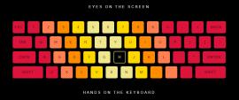 酷炫多彩虚拟键盘UI布局