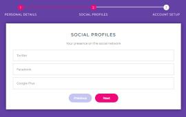 jQuery+Bootstrap实现步骤指引多步骤表单